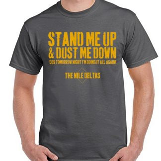 The Nile Deltas Dust Me Down Lyrics Tee